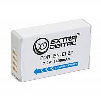 Акумулятор для Nikon EN-EL22, Li-ion, 1400 mAh (BDN2683)