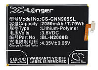 Аккумулятор для GIONEE GN9005 2050 mAh