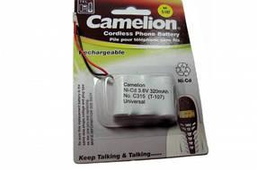 Аккумулятор NI-Cd Camelion (T-107) 3.6V 320mAh
