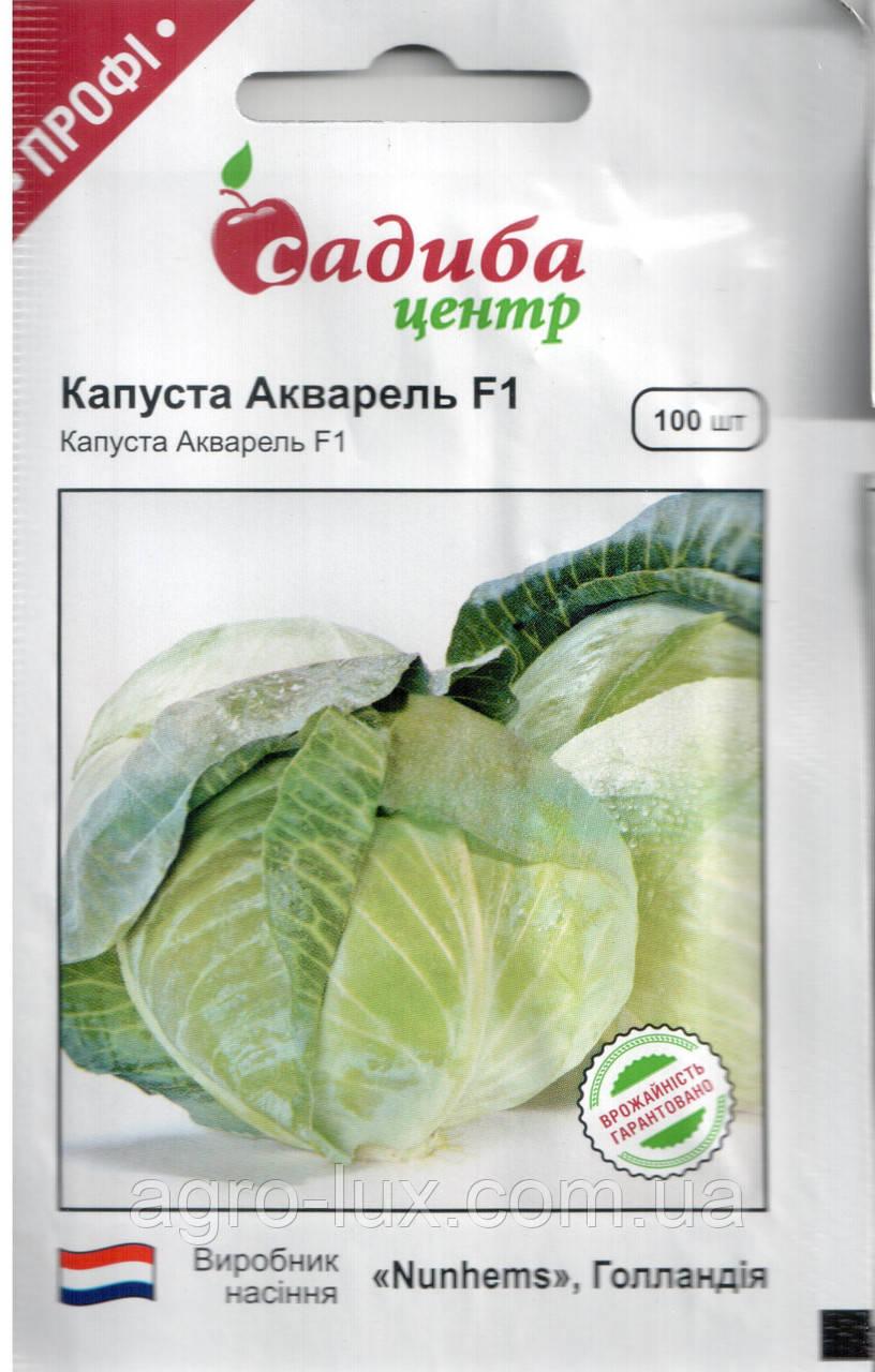 Семена капусты б/к средней Акварель F1 100 шт