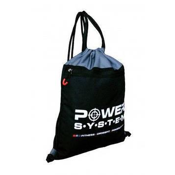 Рюкзак спортивний Power System PS-7011 Gym Sack Alpha Blak/Grey