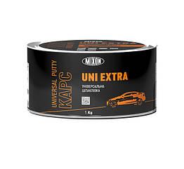 Универсальная двухкомпонентная автомобильная шпатлевка MIXON КАРС UNI EXTRA 1кг