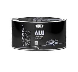 Двухкомпонентная автомобильная шпатлевка MIXON КАРС ALU с алюминиевым наполнителем 0.4кг