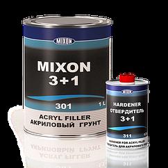 Акриловая автомобильная грунтовка MIXON 3+1 черный 1.1л