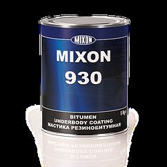 Бітумна мастика MIXON 930 чорна 5кг