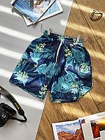 Пляжні шорти чоловічі з малюнком   100% поліестер