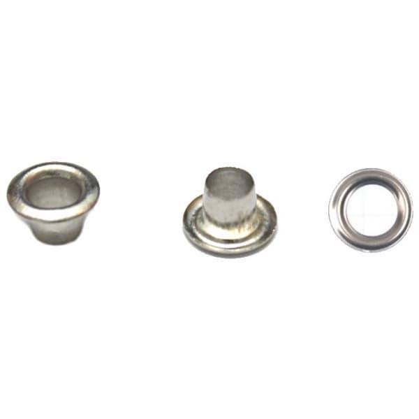Блочка никель, 5мм антимагнит + кольца