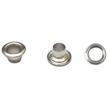 Блочка никель, 5мм антимагнит + кольца, фото 2