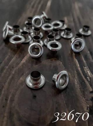Блочка нікель, 6 мм, фото 2