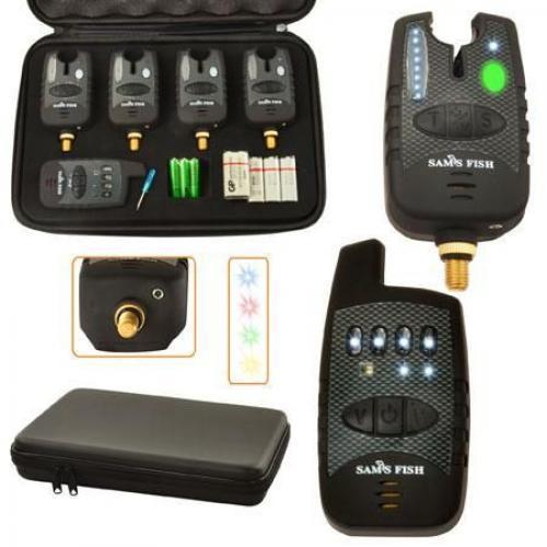 Набір бюджетних електронних сигналізаторів покльовки Sams Fish SF 23657 4+1