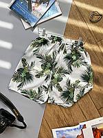 Пляжные шорты мужские с рисунком   100% полиэстер