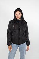 Жіноча демісезонна куртка (Чорний)