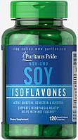 Соєві ізофлавони, Puritan's Pride, 750 мг, 120 капсул