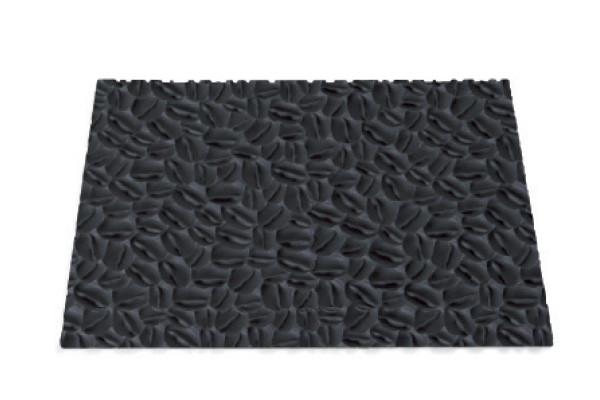 """Килимок силіконовий для декорування """"кавові зерна"""" Silikomart (250х185 мм, h 3 мм)"""