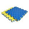 Килимок-пазл IZOLON EVA SPORT 30х30х2 см жовто-синій