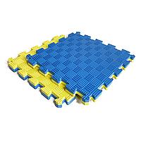 Килимок-пазл IZOLON EVA SPORT 30х30х2 см жовто-синій, фото 1