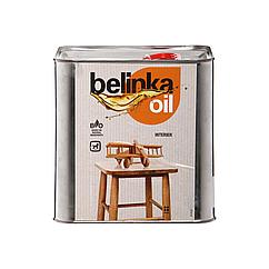 Олія для деревини Belinka Interior oil напівматовий 2.5 л