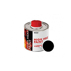 Жаростійка емаль Biodur чорний 0.2 л