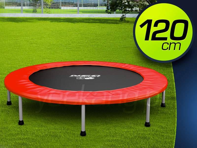Батут без сетки 120 см бренда Neo Sport