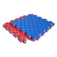 Килимок-пазл IZOLON EVA SPORT 30х30х2 см червоно-синій, фото 1