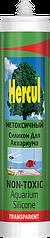 Аквариумный силиконовый герметик HERCUL AQUARIUM прозрачный 280мл