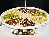 Кунжутная халва  Shaikh Al Kar с цельными орехами 1 кг Иордания, фото 3