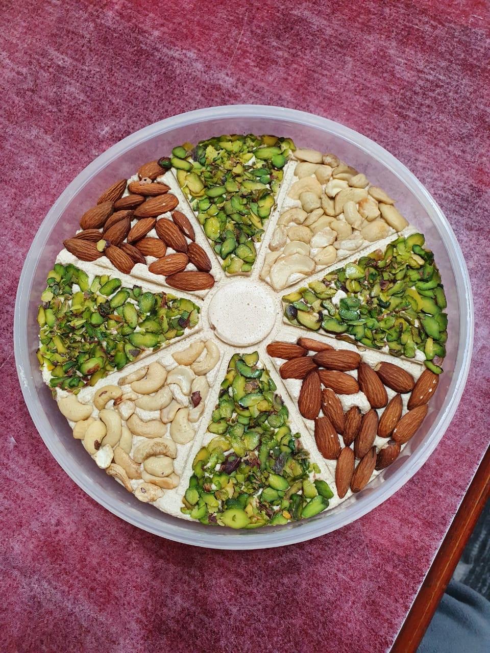 Кунжутная халва  Shaikh Al Kar с цельными орехами 1 кг Иордания