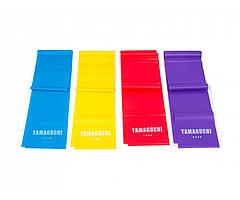 YAMAGUCHI Набор эластичных лент для фитнеса Yamaguchi Band FIT