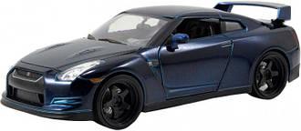 Машина металлическая Jada Форсаж Nissan GT-R (2009) 1:24 (253203008)