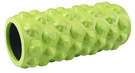 Масажний ролик (валик, роллер) SportVida SV-HK0063 Green