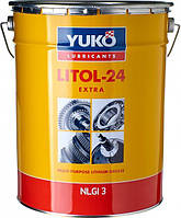 Пластична змазка Літол-24м Yuko (17кг)