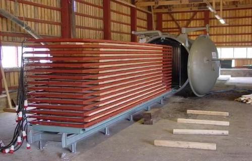Термирование древесины