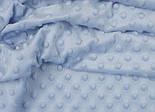 Лоскут плюш minky М-7 цвет голубой, размер 23*160, фото 2