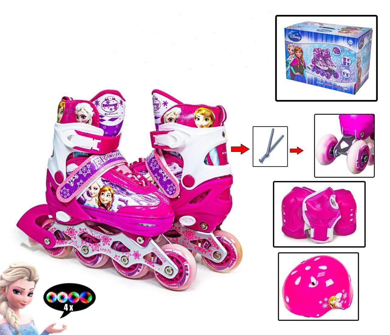 Набір Роликів Frozen Рожевий 31-34 1494864446