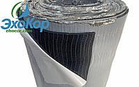 Ланор каучук с клеем и алюминием 6 мм (15х1м)