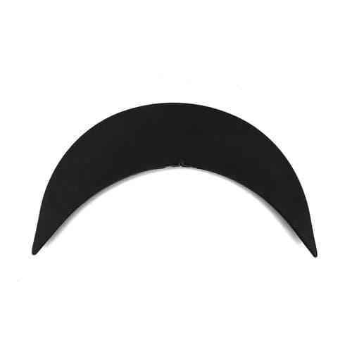 Козырёк черный, 4.5х19 см