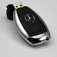 USB зажигалка в виде Mercedes + фонарик