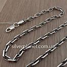 Срібний ланцюжок чоловічий якірного плетіння. Цепочка срібло 925. Якір, довжина 60 см, вага 26 гр, фото 7