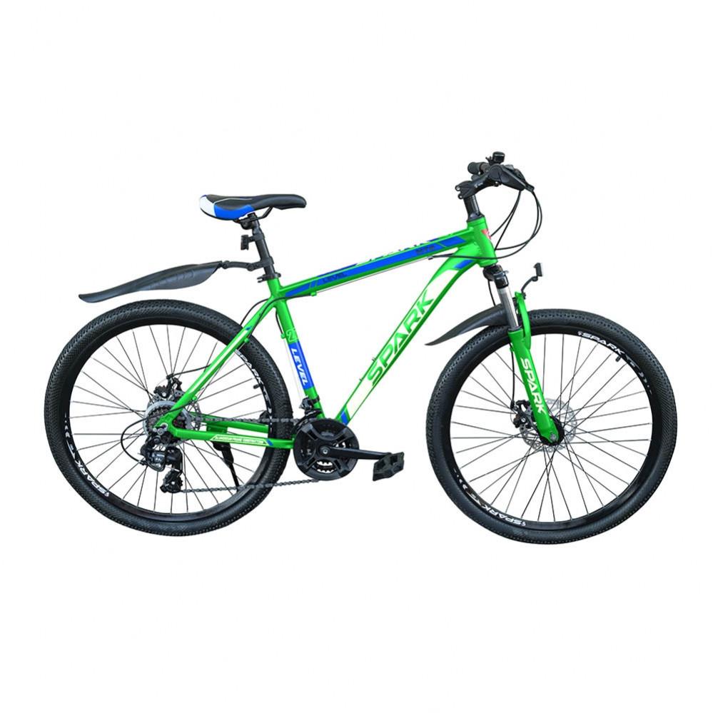 """Горный велосипед Spark Level 27,5"""" зеленый"""