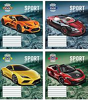 /Тетрадь 18л (линия) 2807л Спортивные машины