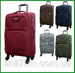 Малый дорожный  чемодан на четырёх колёсах