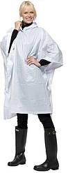 Дождевик складывающийся полиэтиленовыйв чехле Белый