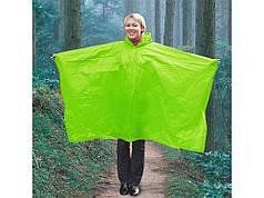 Дождевик складывающийся полиэтиленовыйв чехле Зеленый