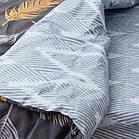 Комплект постільної білизни ранфорс полуторний 21147, фото 5