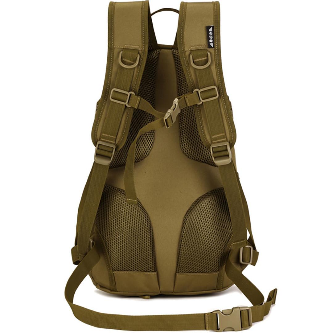Рюкзак тактический Eagle M08G (штурмовой, военный) мужская сумка Оливковый 15 л. - фото 4
