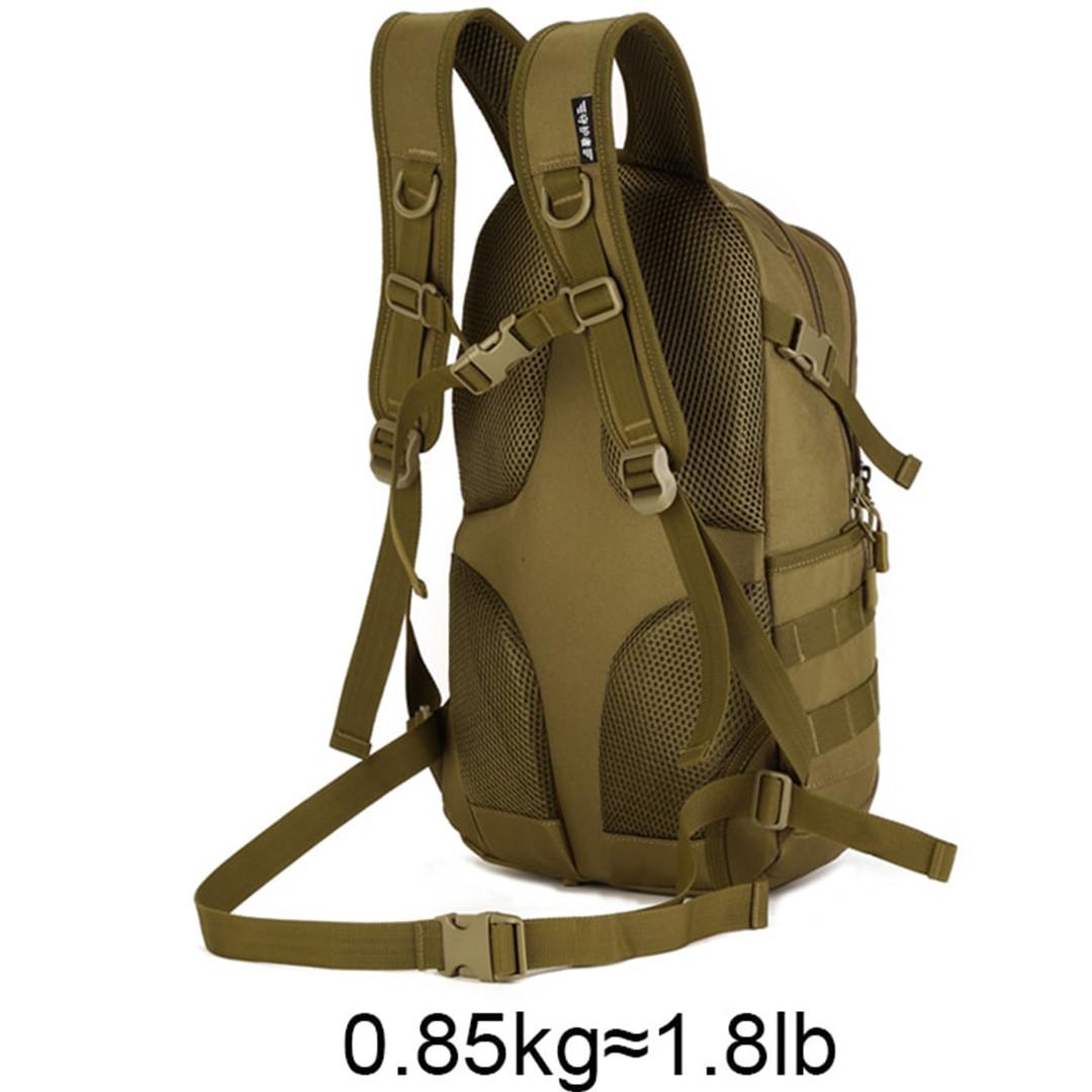 Рюкзак тактический Eagle M08G (штурмовой, военный) мужская сумка Оливковый 15 л. - фото 5