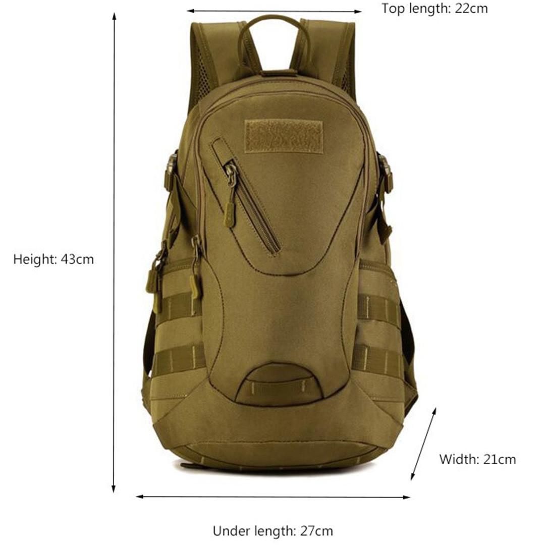 Рюкзак тактический Eagle M08G (штурмовой, военный) мужская сумка Оливковый 15 л. - фото 6