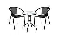Набор садовая и балконная мебель стол и кресла стулья комплект Bistro