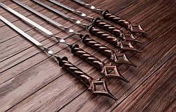 """Набор шампуров с коваными ручками """"Шпиль"""", 6шт., фото 2"""