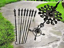 """Набор шампуров с коваными ручками """"Шпиль"""", 6шт., фото 3"""